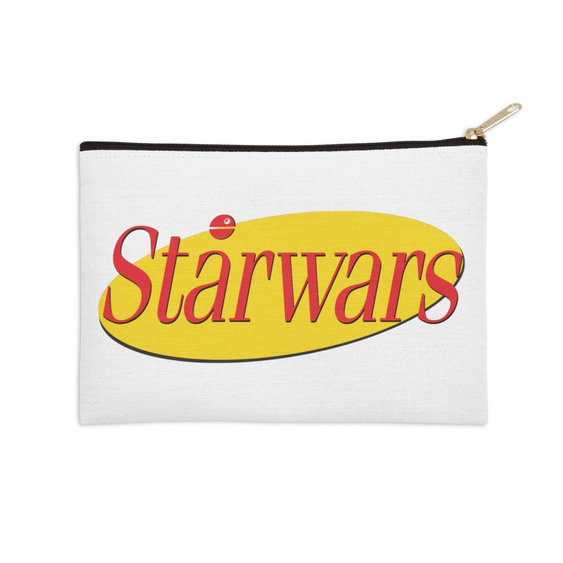 What's the deal with starwars? Accessories Zip Pouch by His Artwork's Shop