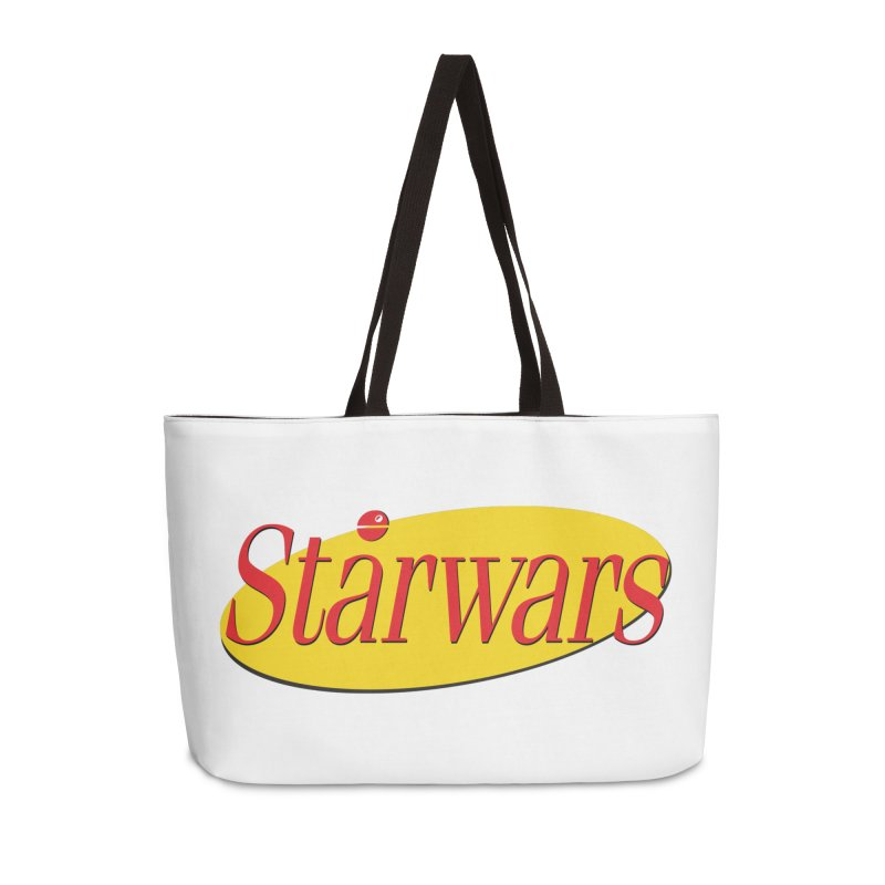 What's the deal with starwars? Accessories Weekender Bag Bag by His Artwork's Shop