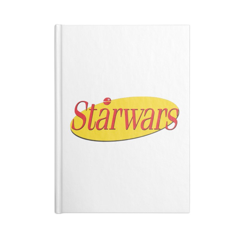 What's the deal with starwars? Accessories Lined Journal Notebook by His Artwork's Shop
