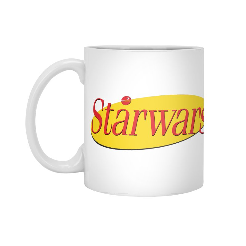 What's the deal with starwars? Accessories Standard Mug by His Artwork's Shop