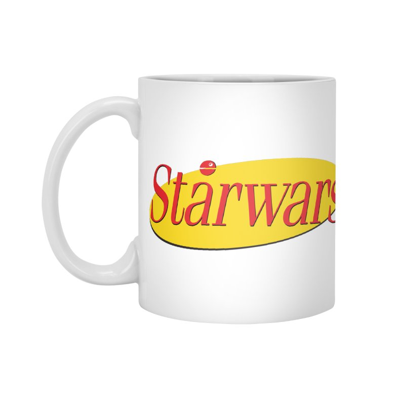 What's the deal with starwars? Accessories Mug by His Artwork's Shop