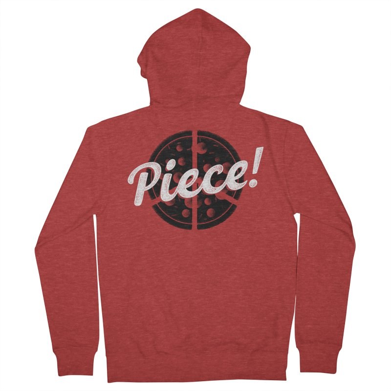 Piece for All Men's Zip-Up Hoody by His Artwork's Shop