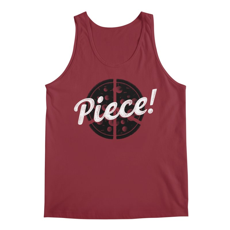 Piece for All Men's Regular Tank by His Artwork's Shop