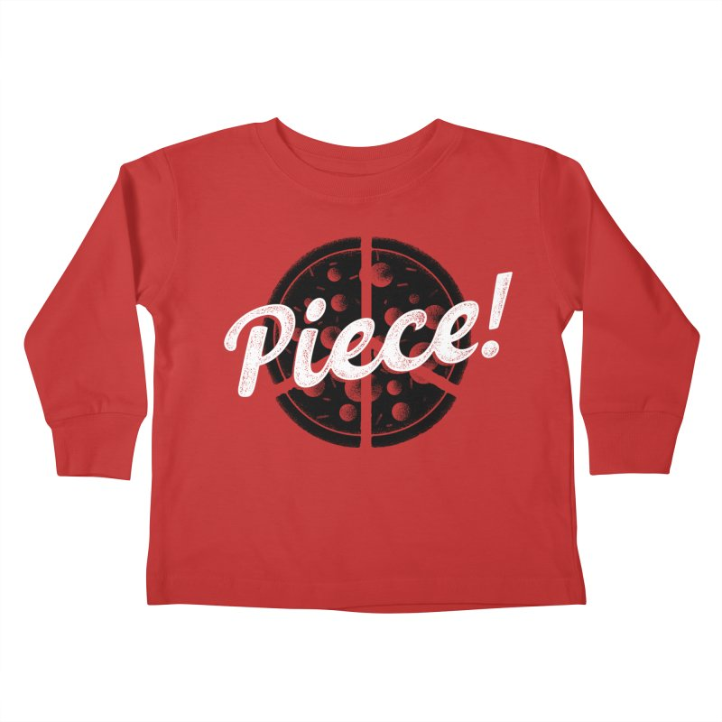 Piece for All Kids Toddler Longsleeve T-Shirt by His Artwork's Shop