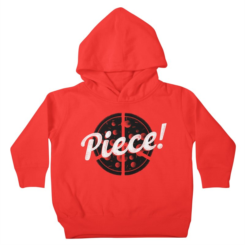 Piece for All Kids Toddler Pullover Hoody by His Artwork's Shop