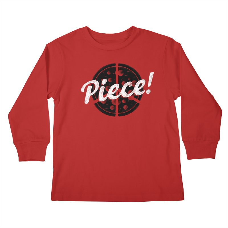 Piece for All Kids Longsleeve T-Shirt by His Artwork's Shop