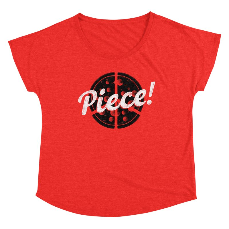 Piece for All Women's Scoop Neck by His Artwork's Shop