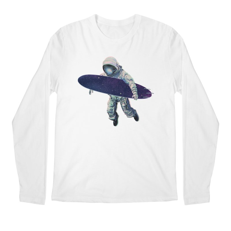 Gravitational Waves Men's Regular Longsleeve T-Shirt by His Artwork's Shop