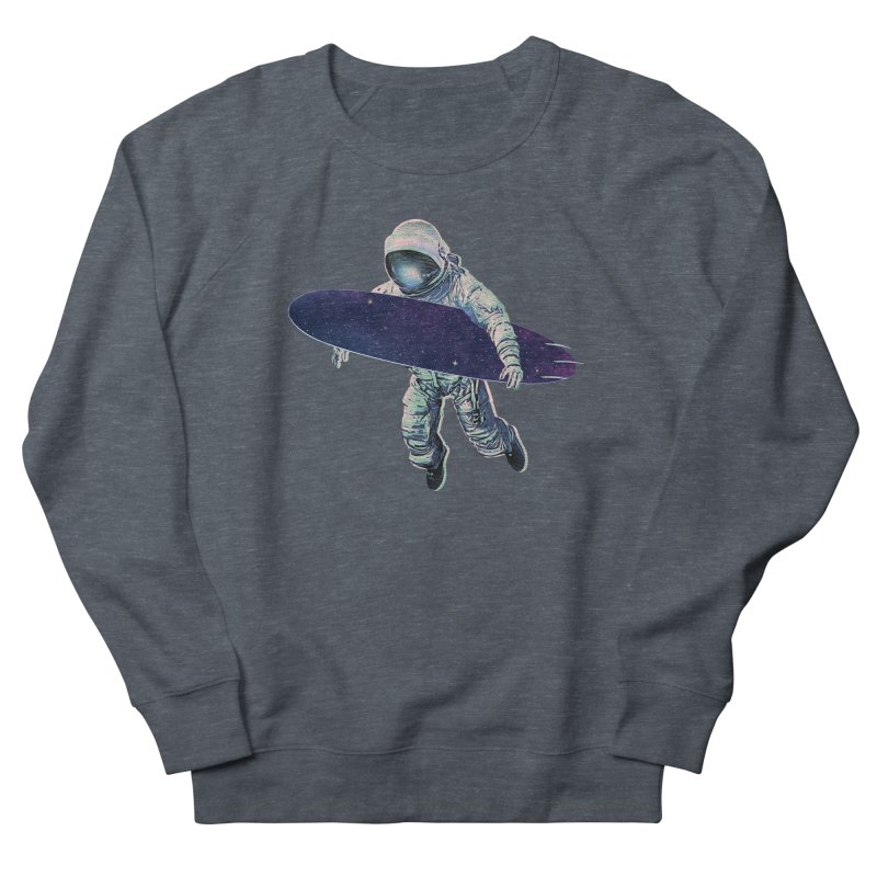 Gravitational Waves Women's French Terry Sweatshirt by His Artwork's Shop