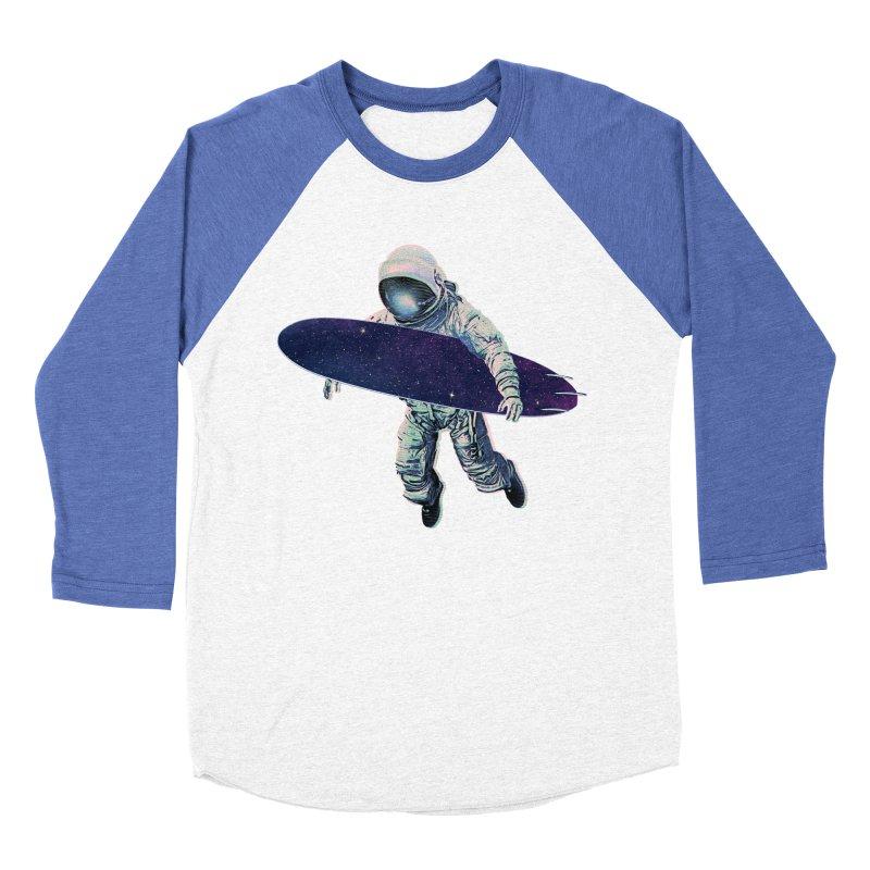 Gravitational Waves Women's Baseball Triblend Longsleeve T-Shirt by His Artwork's Shop