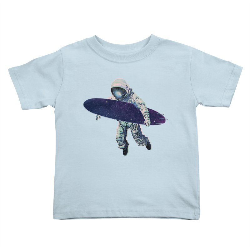 Gravitational Waves Kids Toddler T-Shirt by His Artwork's Shop