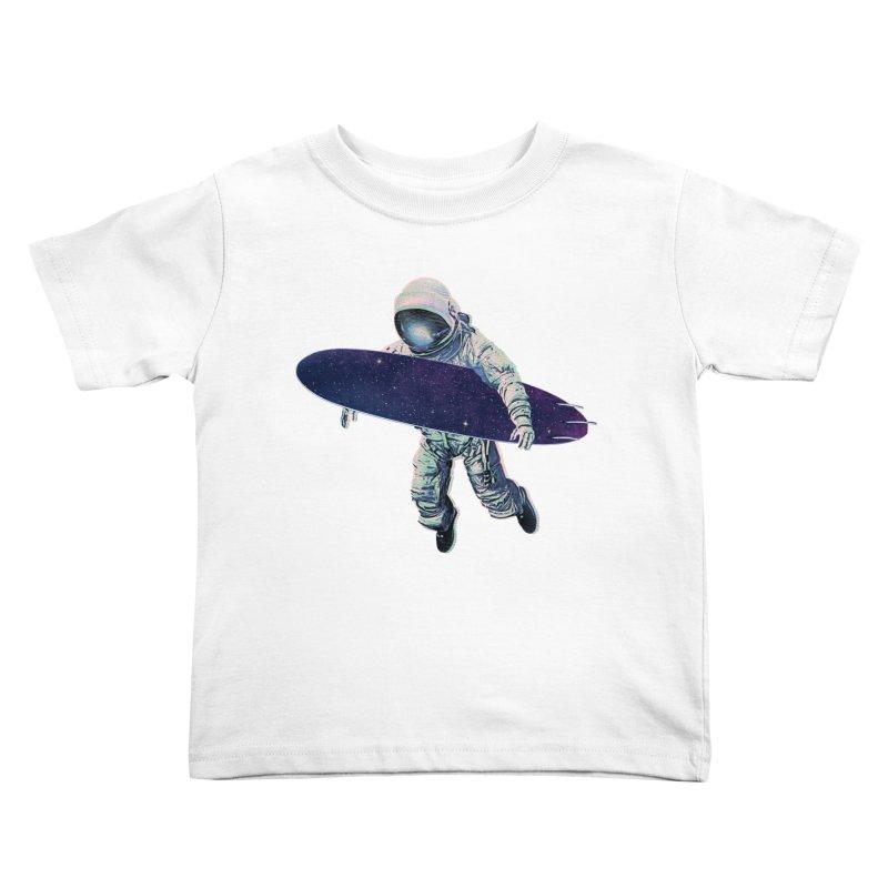 Gravitational Waves Kids Toddler T-Shirt by His Artwork's Shop