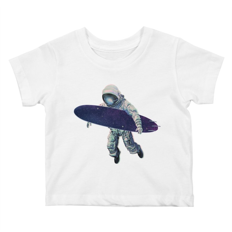 Gravitational Waves Kids Baby T-Shirt by His Artwork's Shop