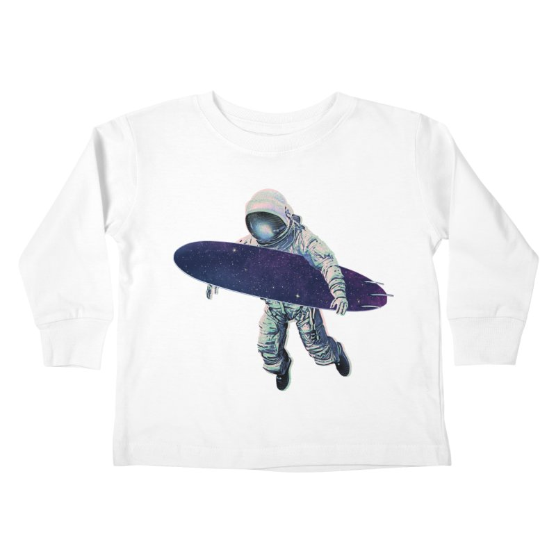 Gravitational Waves Kids Toddler Longsleeve T-Shirt by His Artwork's Shop