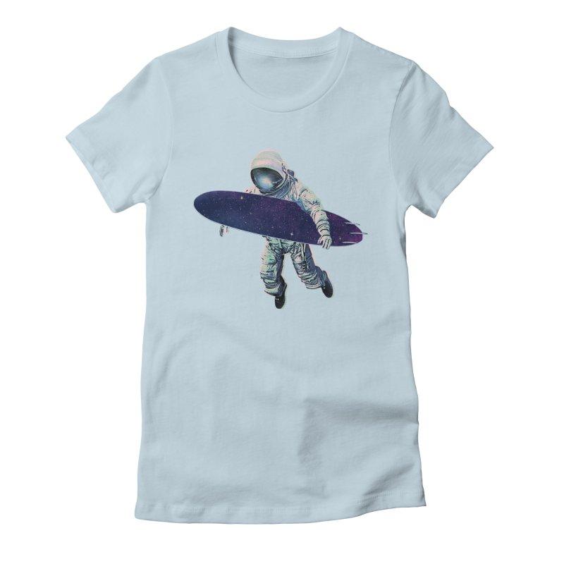 Gravitational Waves Women's T-Shirt by His Artwork's Shop