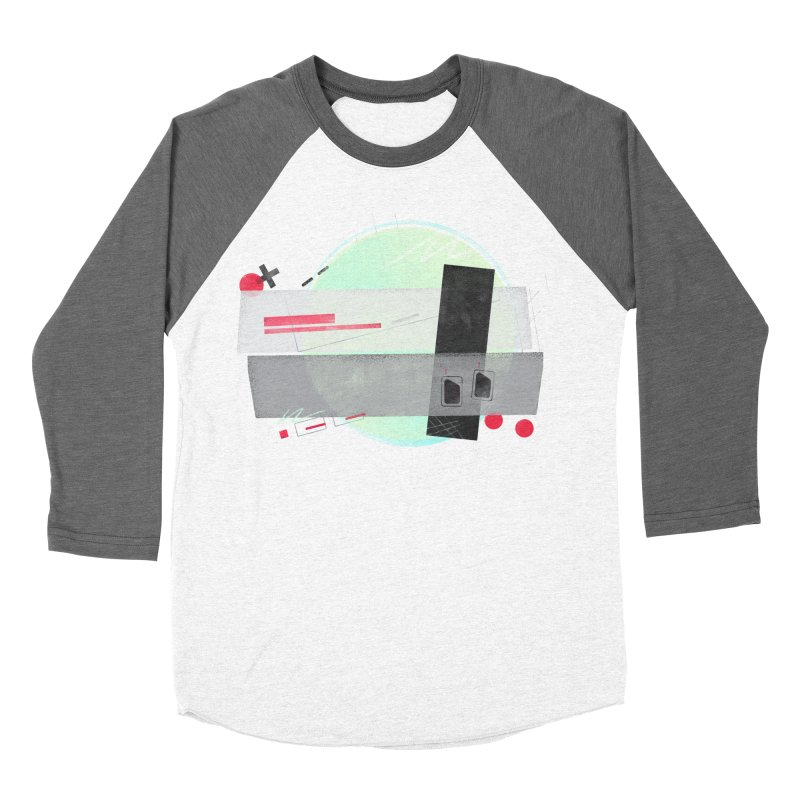 Kandinsky Entertainment System Women's Baseball Triblend Longsleeve T-Shirt by His Artwork's Shop