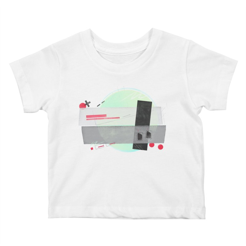 Kandinsky Entertainment System Kids Baby T-Shirt by His Artwork's Shop