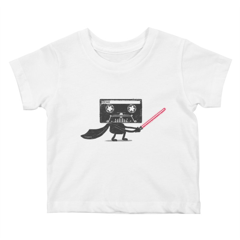 Media Wars II Kids Baby T-Shirt by His Artwork's Shop