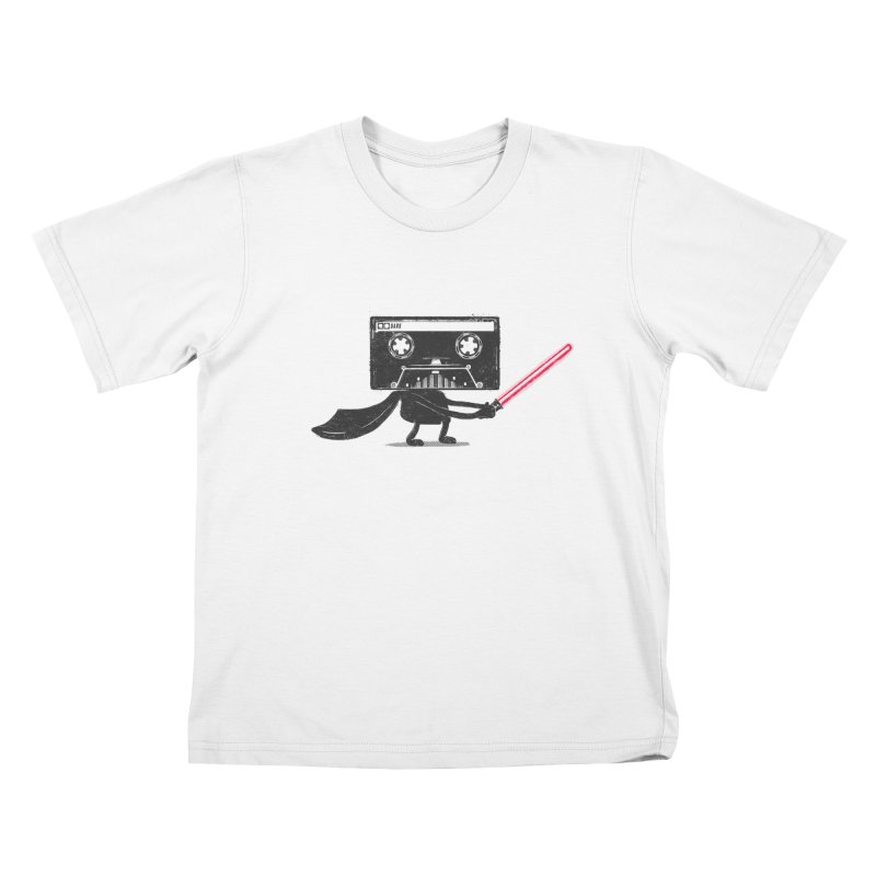Media Wars II Kids T-Shirt by His Artwork's Shop