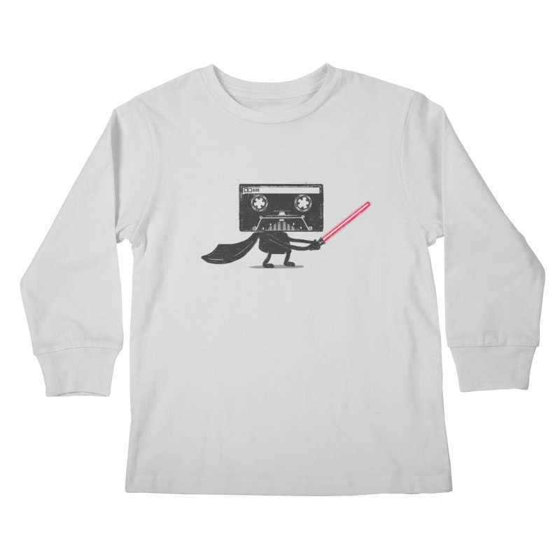 Media Wars II Kids Longsleeve T-Shirt by His Artwork's Shop
