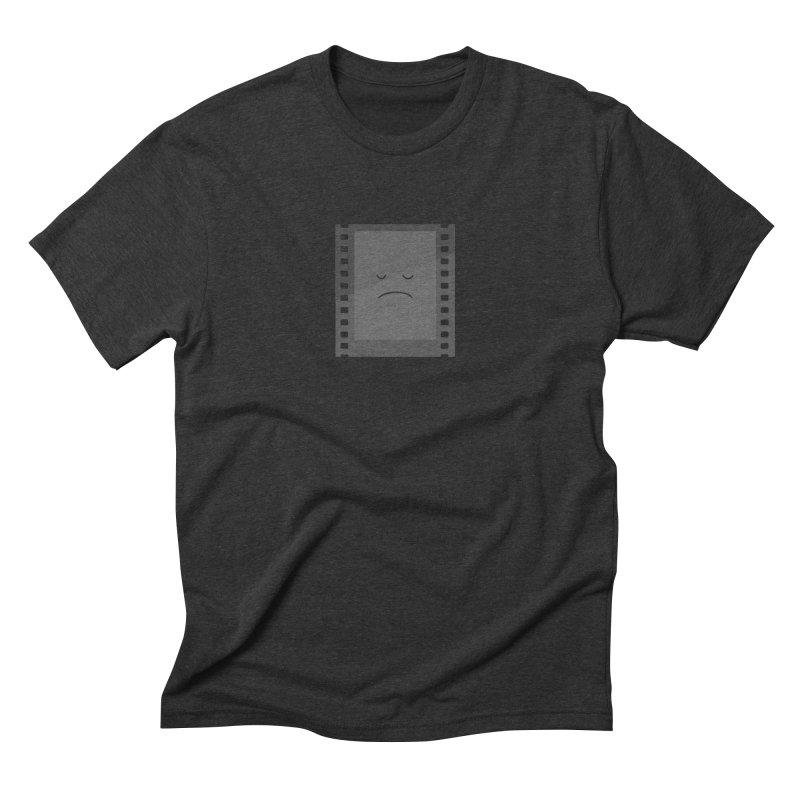 Negative Men's Triblend T-shirt by His Artwork's Shop