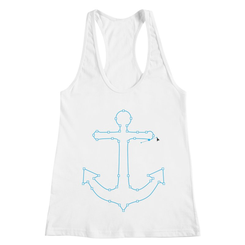 Anchor Points Women's Tank by His Artwork's Shop