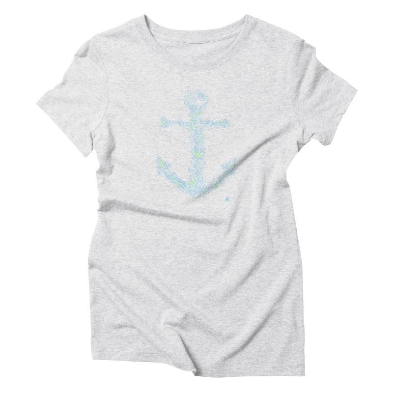 Sail Aweigh Women's T-Shirt by His Artwork's Shop