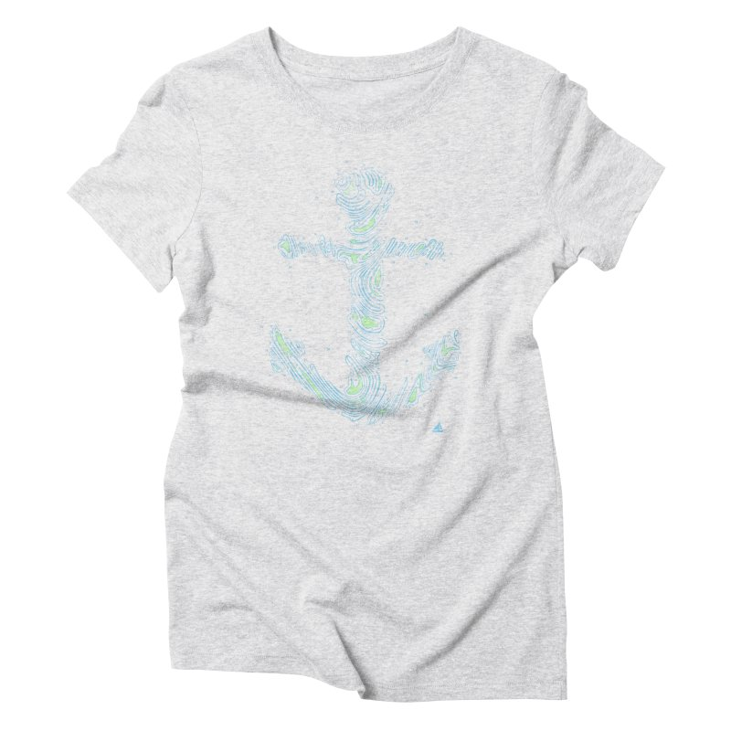 Sail Aweigh Women's Triblend T-Shirt by His Artwork's Shop