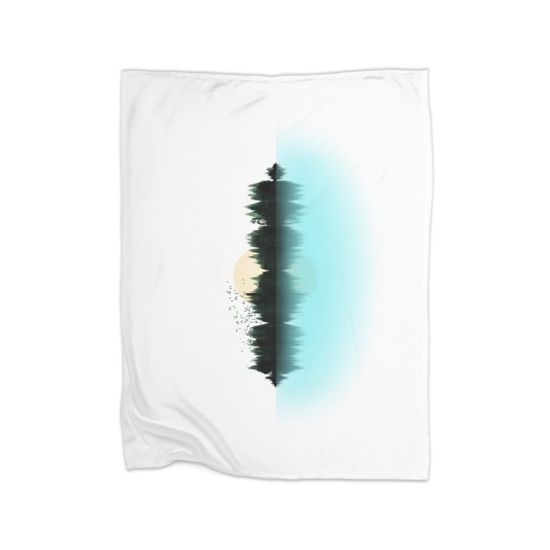 The Sound of Nature Home Fleece Blanket Blanket by His Artwork's Shop