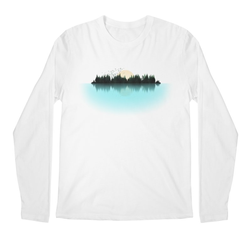 The Sound of Nature Men's Regular Longsleeve T-Shirt by His Artwork's Shop