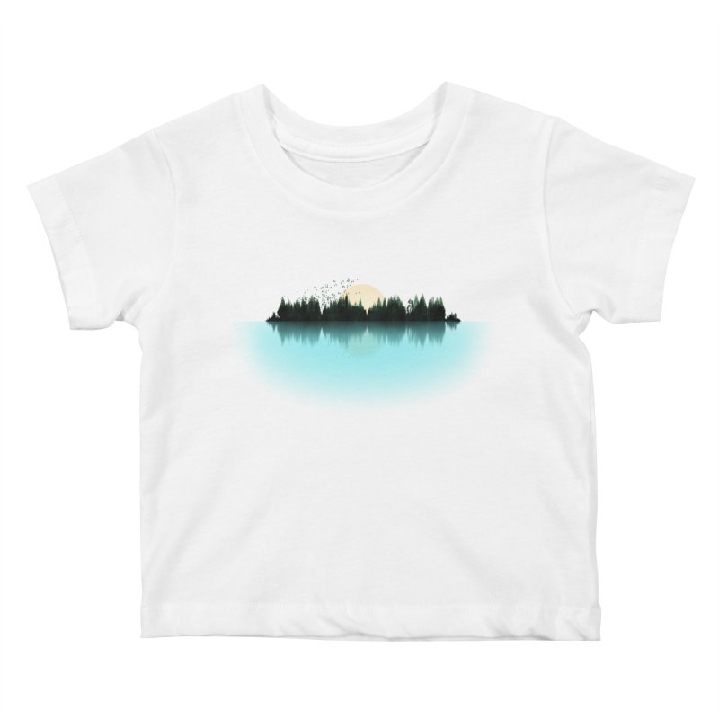 The Sound of Nature Kids Baby T-Shirt by His Artwork's Shop