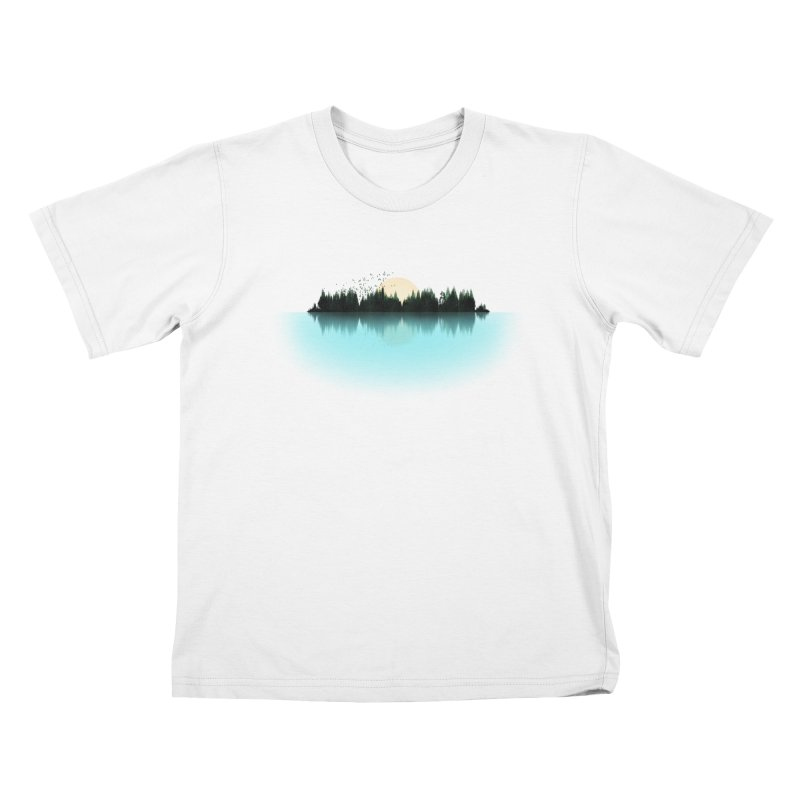The Sound of Nature Kids T-Shirt by His Artwork's Shop