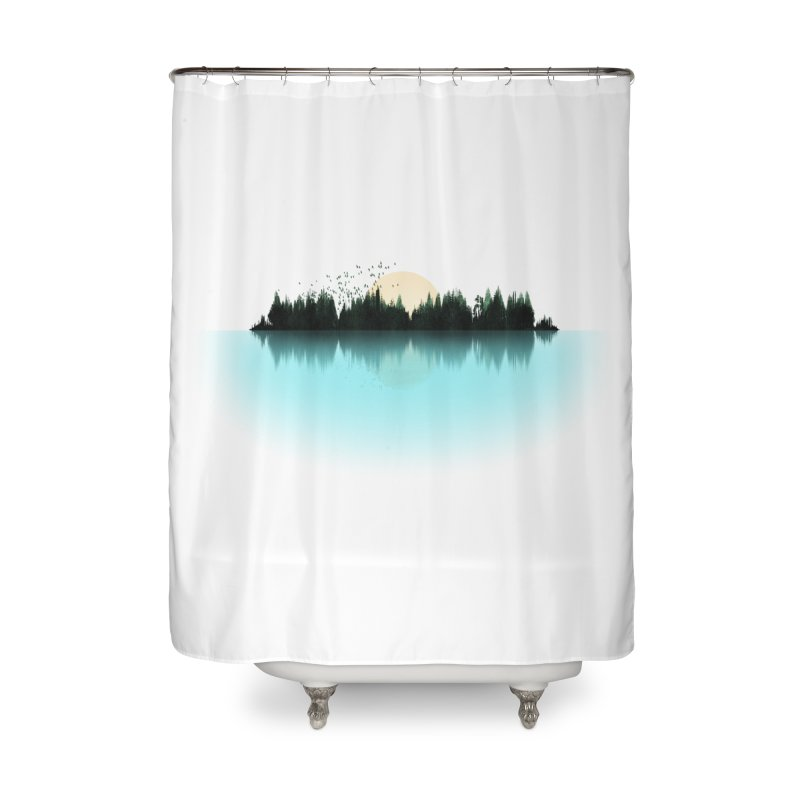 The Sound of Nature Home Shower Curtain by His Artwork's Shop