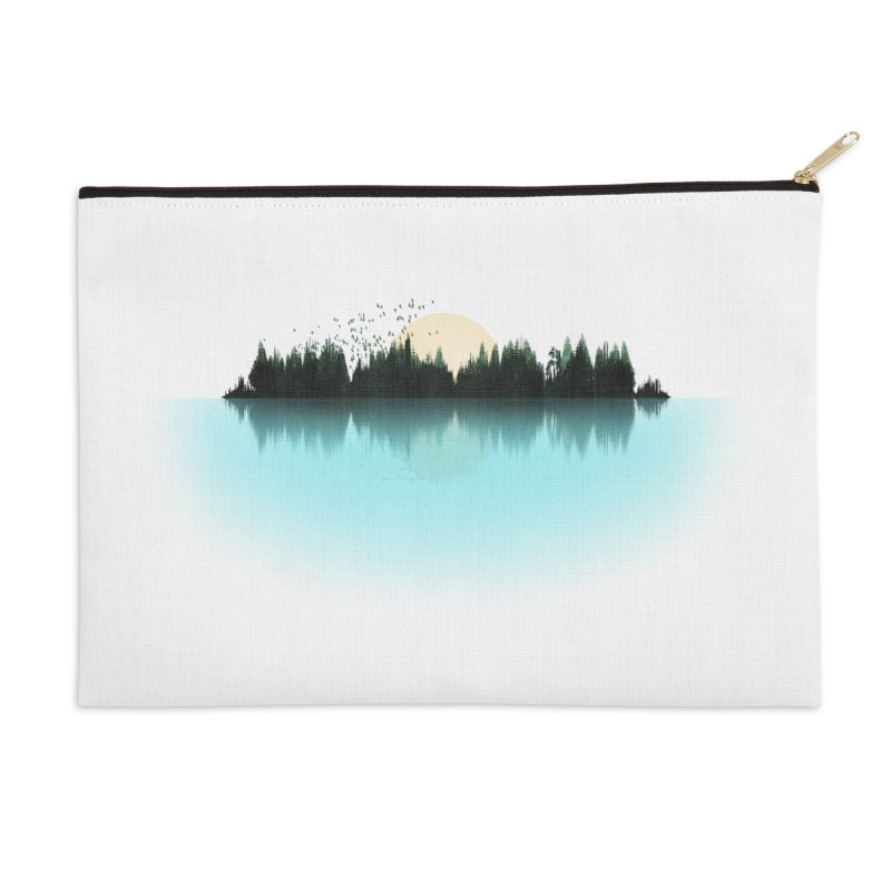 The Sound of Nature Accessories Zip Pouch by His Artwork's Shop