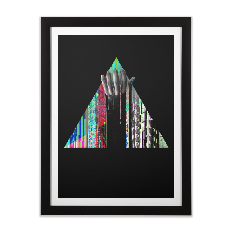 Fragments Home Framed Fine Art Print by His Artwork's Shop