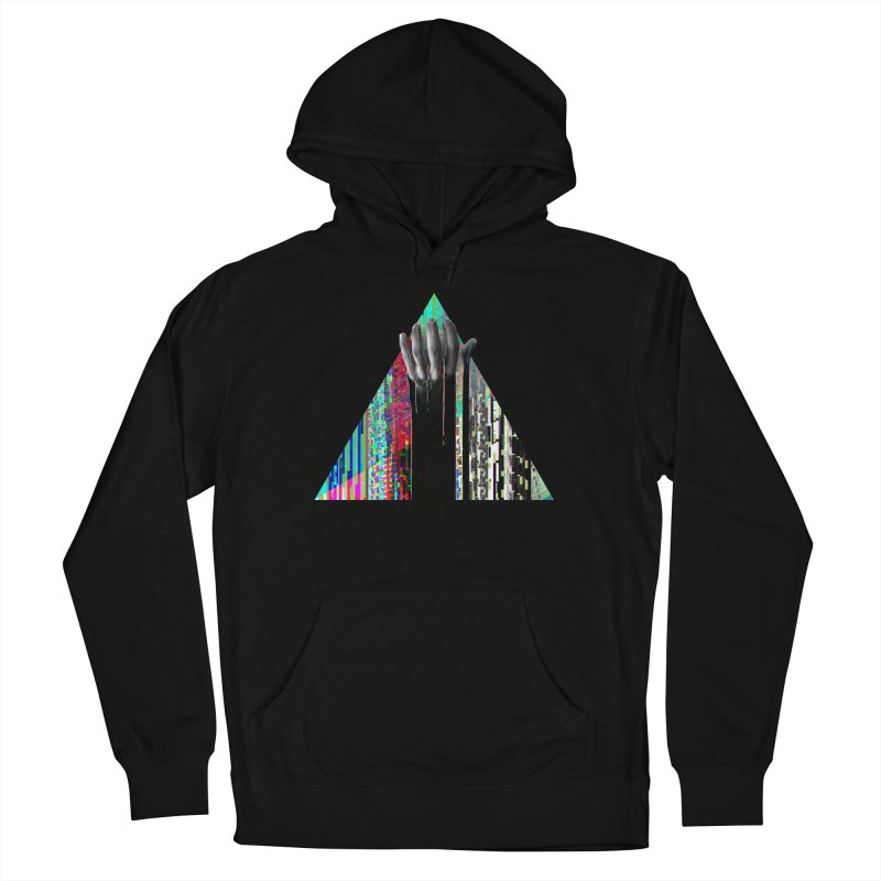 Fragments Women's Pullover Hoody by His Artwork's Shop