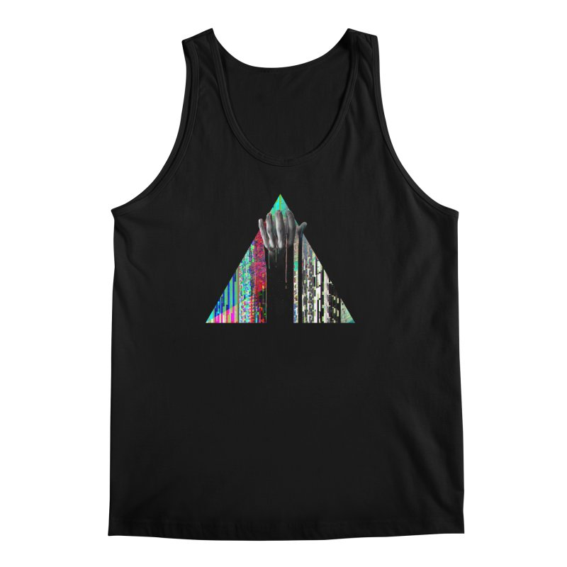 Fragments Men's Tank by His Artwork's Shop