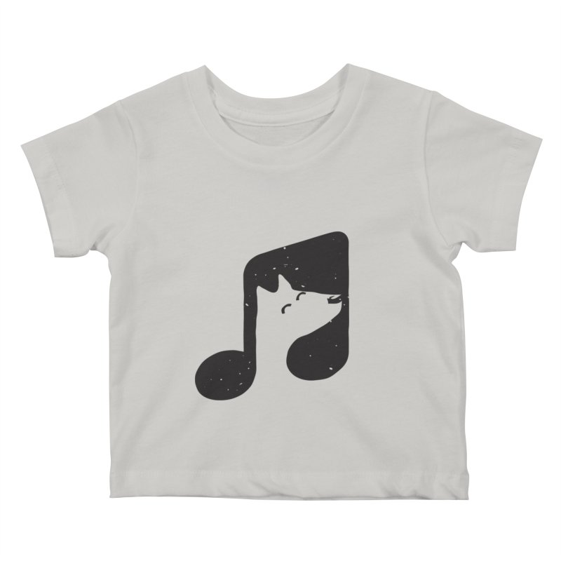 Bark Note Kids Baby T-Shirt by His Artwork's Shop