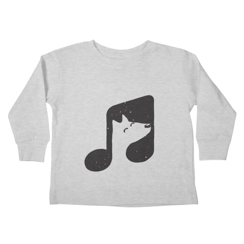 Bark Note Kids Toddler Longsleeve T-Shirt by His Artwork's Shop