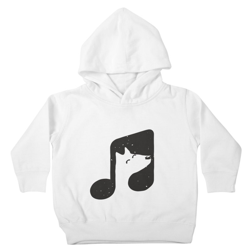 Bark Note Kids Toddler Pullover Hoody by His Artwork's Shop