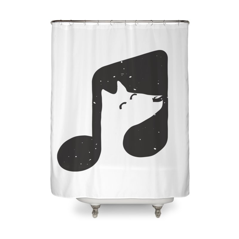 Bark Note Home Shower Curtain by His Artwork's Shop