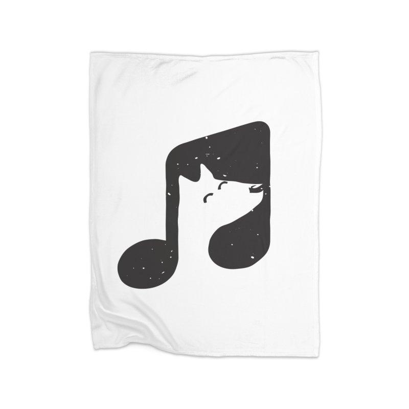 Bark Note Home Fleece Blanket Blanket by His Artwork's Shop