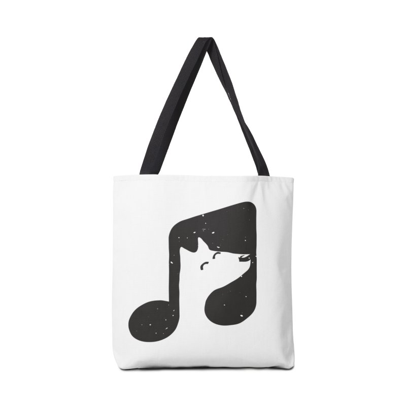 Bark Note Accessories Tote Bag Bag by His Artwork's Shop