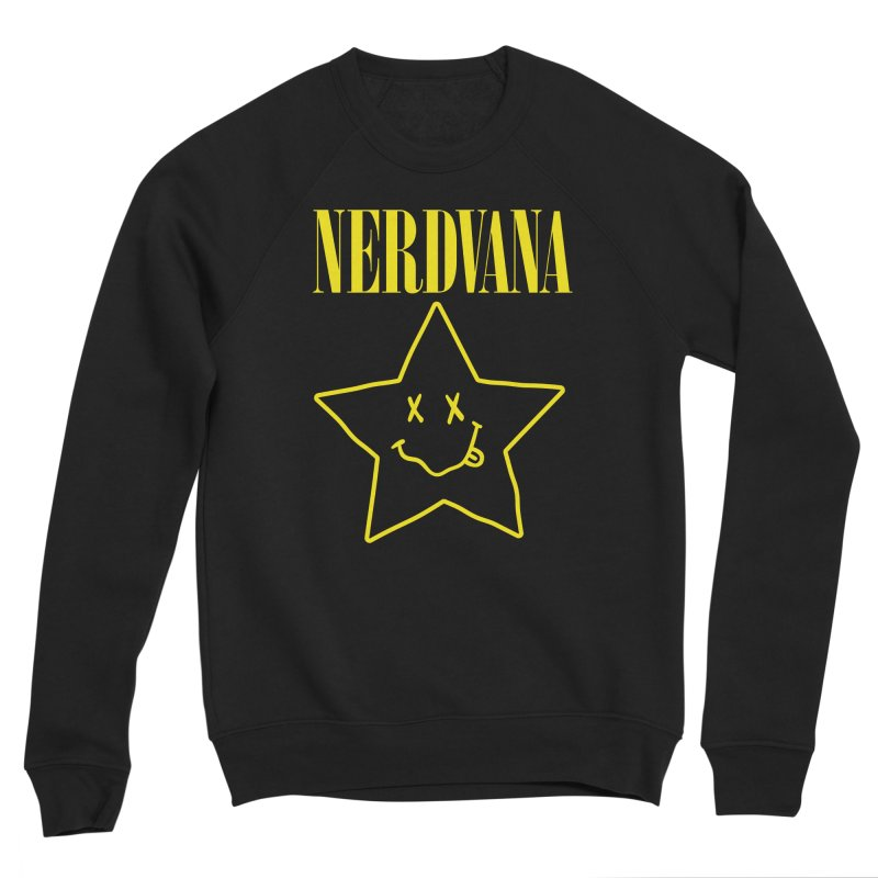 NERDVANA Women's Sponge Fleece Sweatshirt by His Artwork's Shop