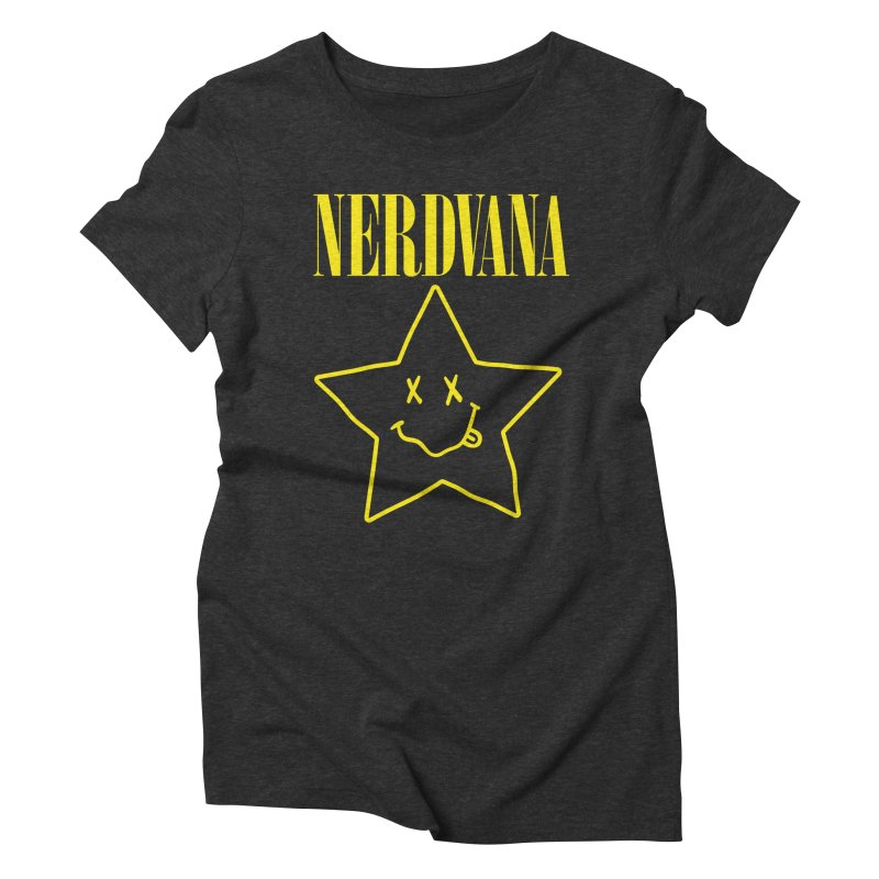 NERDVANA Women's Triblend T-Shirt by His Artwork's Shop