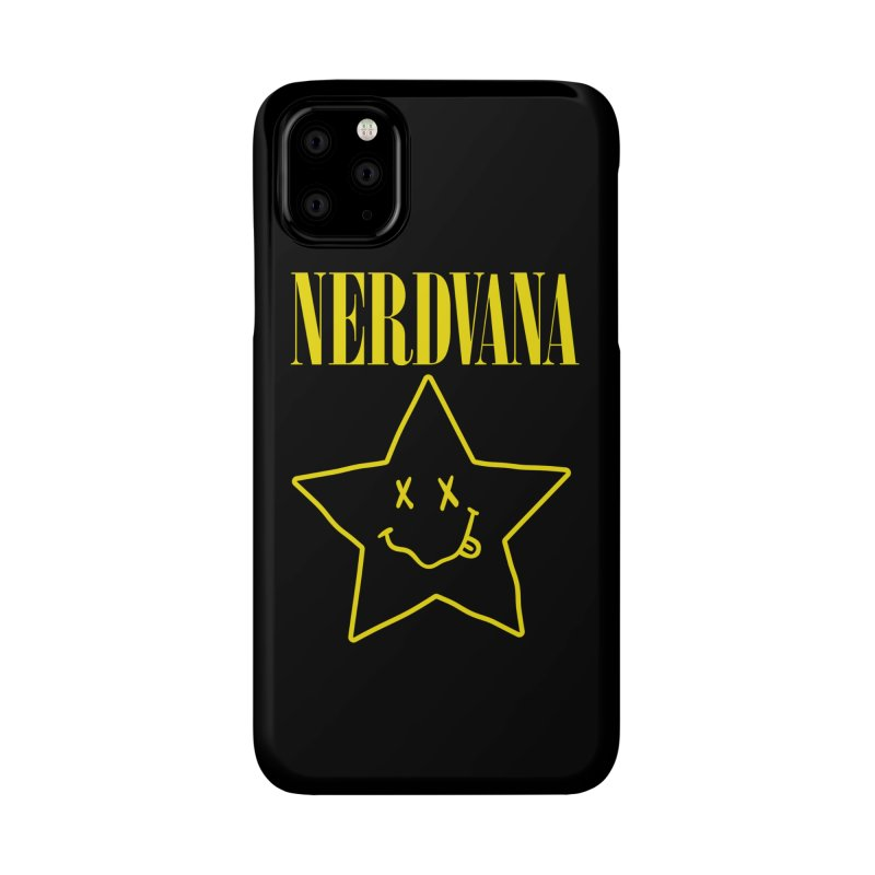 NERDVANA Accessories Phone Case by His Artwork's Shop