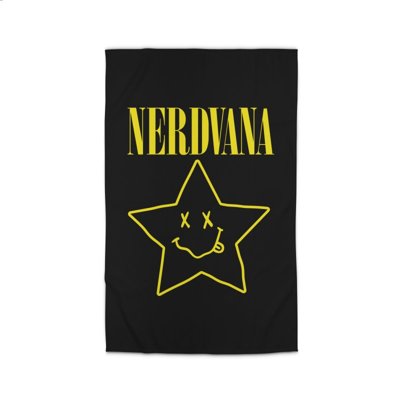 NERDVANA Home Rug by His Artwork's Shop