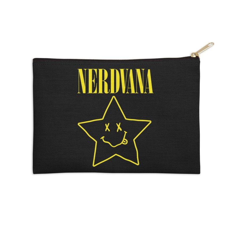 NERDVANA Accessories Zip Pouch by His Artwork's Shop