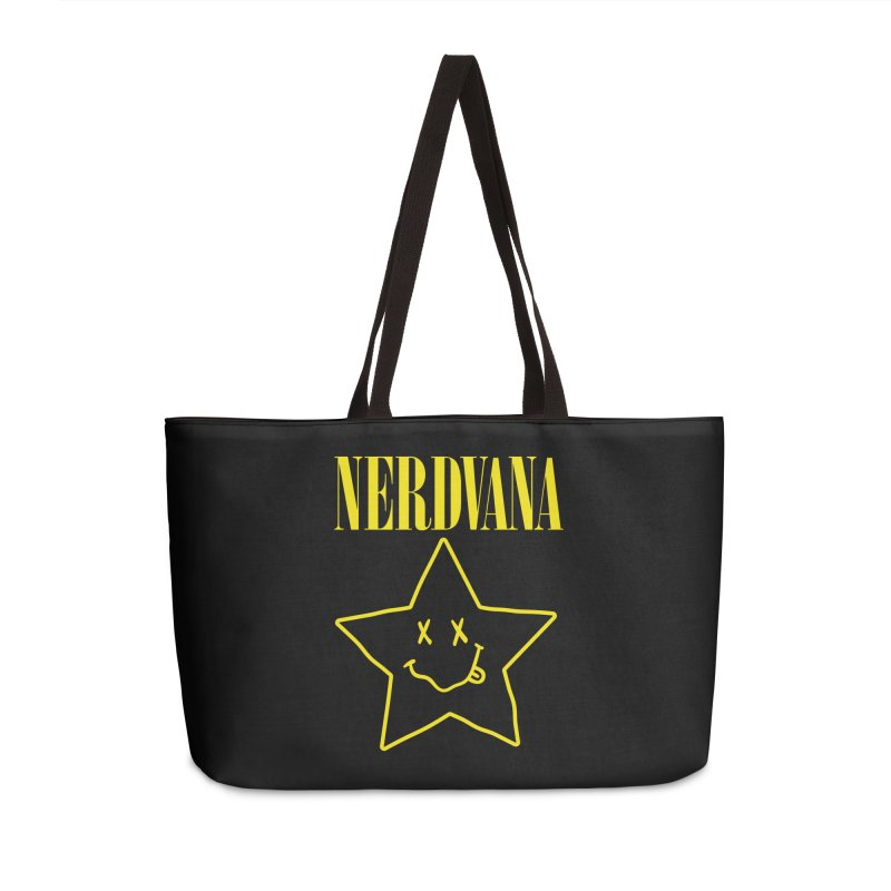 NERDVANA Accessories Weekender Bag Bag by His Artwork's Shop
