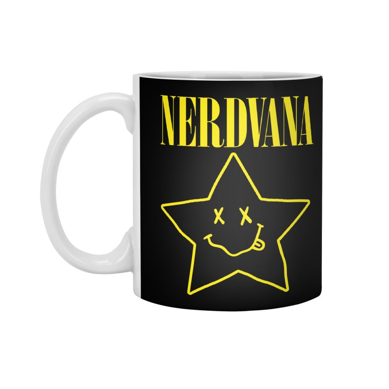 NERDVANA Accessories Standard Mug by His Artwork's Shop